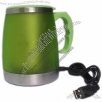 Stainless Steel Travel USB Mug