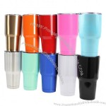 Stainless Steel Tumbler 30Oz. Double Walled Insulated Travel Cup with Resistant Lid
