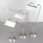 Stainless Steel Wedding Place Card Holder