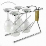 Stainless Steel Wine Glass Rack