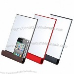 Stand Mirror With Smartphone Stand