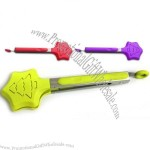 Star Design Silicone Tongs