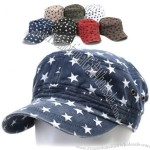 Star Vintage Cadet Military Army Hat Cap Trucker