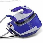 Steam Iron with Plastic Tank and Steam Generator Refill System
