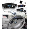 Steering Wheel Bluetooth Car Kit Mp3 Player Built In Fm Transmitter And Wirless Earpiece