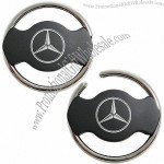 Steering Wheel Keyholder in Matte Black Finishing