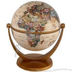 "Stellanova - 4"" swivel and tilt political antique ocean globe"