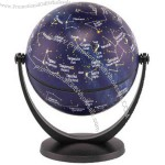 "Stellanova - 4"" swivel and tilt stars and constellations globe."