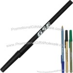 Stick pen made from post-consumer & post-industrial recycled products.