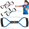Stretch bands for health and fitness.