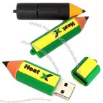 Student Pencil Shaped USB Flash Drive