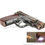 Stylish Pistol Shaped Cigarette Gun Lighter Copper