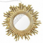 Sun Shaped PU Mirror Frame