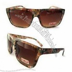 Sunglasses with Classic Wayfarer Design and Earpieces