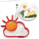Sunny White Cloud Silicone Egg Mould