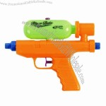 Super sized water gun with large capacity tank.