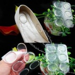 Super Soft Invisible Silicone Gel Cushion Insoles Pads For Party Shoes Feet