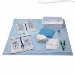 Surgical kit for circumcision procedure, safe, hygienic and easy to use