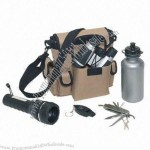 Survival kits with LED Flashlight