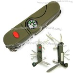 Swiss army knife with 13 function