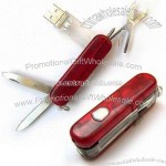 Swiss Knife Design USB Flash Drive