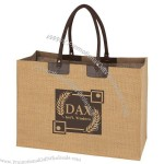 Swizz Jute Tote Bag