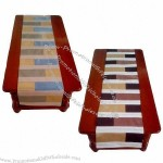 Table runner, made of 100% polyester