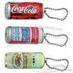 Tall Beverage Can Projection Key Chain - Color Projection Image