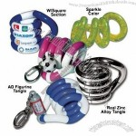 Tangle Puzzle with Keyring