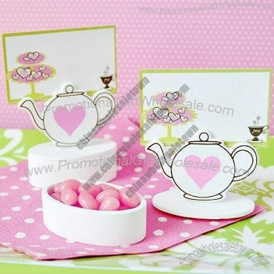 Cheap Wedding Gift Card Holders : ...Wedding Place Card HolderTeapot Favor Box Place Card Holders
