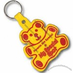 Teddy Bear Shaped Key Tag
