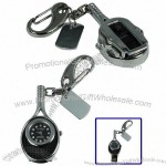 Tennis Racket Shaped Diamond Jewelry with Watch Style USB Flash Disk