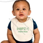 Text Message Baby Bibs