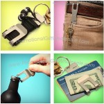 The Clip - Multi-Purpose Sustainable Money Clip Keychain With Bottle Opener