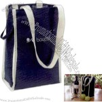 The Pack And Go Collection The First Impression - Insulated Wine Bottle Tote Bag