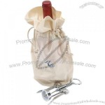 The Sonoma Canvas Wine Bag