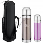Thermal Bottle - 17 Oz. Double Wall Insulation Stainless Steel W/ Cup Lid