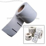 Thermal Paper Rolled Adhesive Label with Non-liner Type and Non-backing Paper
