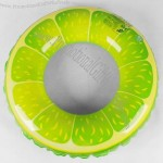 Thickening Lemon Inflatable Swim Ring
