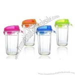 Thicker Glass Buckle Shaker Cup 500ml
