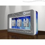 Three Cigarette Box Magnetic Floating Display Rack