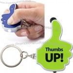 Thumb Stylus Keychain with Light