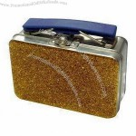 Tin Confectionery Gift Box with Handle