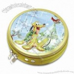 Tinplate CD case with 24pcs inner pages