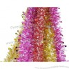 Tinsel Colored Ribbon for Holiday Decorations