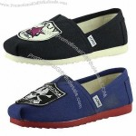 Toms Ladies Slip-on Canvas Shoe with Classic Design