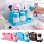 Toothbrush Holder and Gargle Cup Set