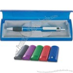 Translucent box pen package.