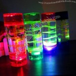 Transparent Acrylic Floating Timer with LED Light