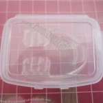 Transparent Denture Box
